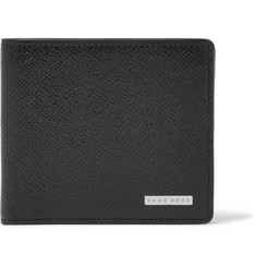 Hugo Boss Grained-Leather Billfold Wallet