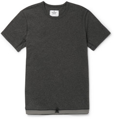 Reigning Champ Slim-Fit Drawstring-Hem Cotton T-Shirt