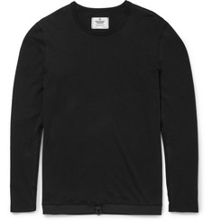 Reigning Champ Drawstring-Hem Cotton-Jersey T-Shirt