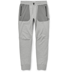 Reigning Champ Tapered Cotton-Jersey and Stretch-Shell Sweatpants