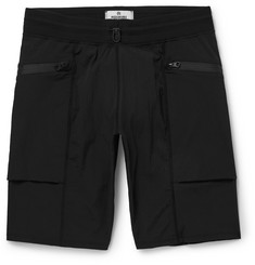 Reigning Champ Slim-Fit Textured Stretch-Shell Shorts