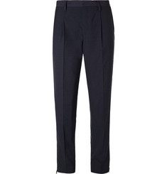 Marvy Jamoke Slim-Fit Panelled Shell and Wool-Blend Trousers