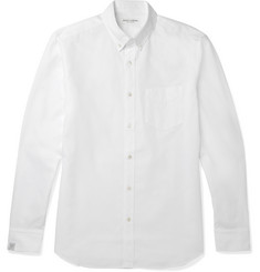 Marvy Jamoke Button-Down Collar Cotton Royal Oxford Shirt
