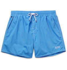 Hugo Boss - Lobster Mid-Length Swim Shorts