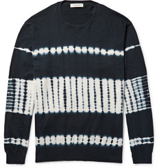nonnative Guardian Tie-Dyed Cotton Sweater