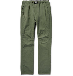 nonnative - Coach Easy Tapered Cotton-Blend Shell Trousers