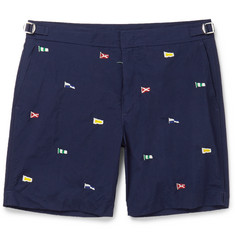 Polo Ralph Lauren - Newport Mid-Length Embroidered Swim Shorts