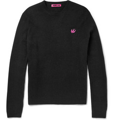 McQ Alexander McQueen Slim-Fit Wool and Cashmere-Blend Sweater