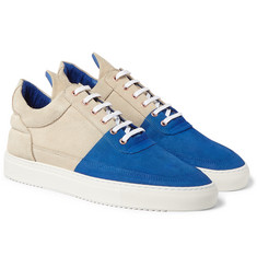 Filling Pieces - + United Arrows Suede Sneakers