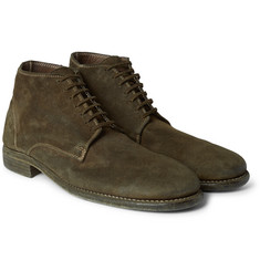 Guidi - Distressed Suede Boots