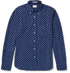 Gant Rugger Polka-Dot Cotton Oxford Shirt