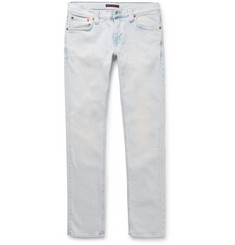 Nudie Jeans - Tight Long John Skinny-Fit Washed Organic Stretch-Denim Jeans