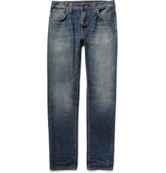 Nudie Jeans - Steady Eddie Washed Organic Denim Jeans