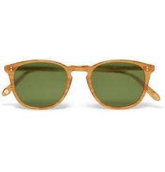 Garrett Leight California Optical Kinney D-Frame Acetate Sunglasses