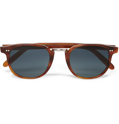 Cutler and Gross - D-Frame Tortoiseshell Acetate Sunglasses