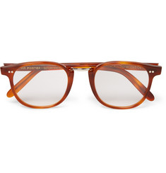 MR PORTER 5th ANNIVERSARY - + Cutler and Gross D-Frame Tortoiseshell Acetate Optical Glasses