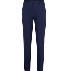 Theory Blue Jake W Slim-Fit Stretch-Cotton Trousers