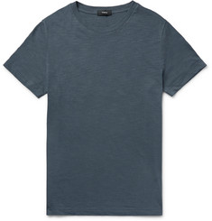 Theory Koree Slim-Fit Mélange Slub Cotton-Jersey T-Shirt