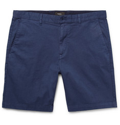 Theory Zaine Stretch-Cotton Twill Shorts