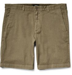 Theory Zaine S Stretch-Cotton Twill Shorts