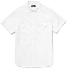 Alex Mill Roadhouse Slim-Fit Herringbone Cotton Shirt