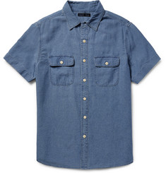 Alex Mill Roadhouse Slim-Fit Cotton-Dobby Shirt