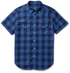 Alex Mill Buffalo-Checked Cotton Shirt
