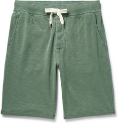 Alex Mill Garment-Dyed Loopback Cotton-Jersey Shorts