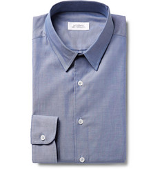 Saturdays NYC Reed Cotton Pinpoint Oxford Shirt