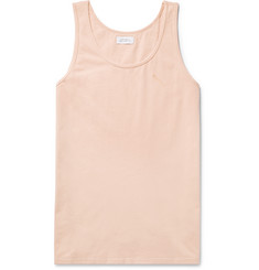 Saturdays NYC Nick Garment-Dyed Cotton-Jersey Tank Top