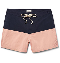 Saturdays NYC - Ennis Colour-Block Mid-Length Swim Shorts