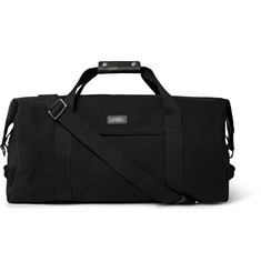 Saturdays NYC Norfolk Leather-Trimmed Canvas Holdall