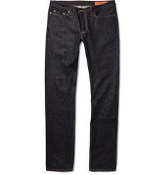 Jean Shop Mick Slim-Fit Rinsed Selvedge Denim Jeans