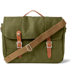J.Crew - Harwick Leather-Trimmed Canvas Messenger Bag