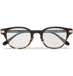 Eyevan 7285 Round-Frame Tortoiseshell Acetate Optical Glasses
