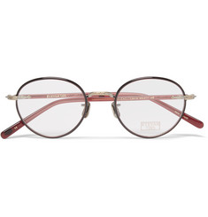 Eyevan 7285 Round-Frame Acetate Optical Glasses