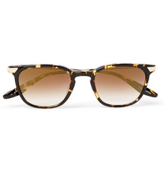 Barton Perreira - Dean Square-Frame Tortoiseshell Acetate and Gold-Tone Mirrored Sunglasses