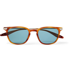 Barton Perreira Dean Square-Frame Acetate and Gold-Tone Sunglasses