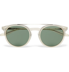 Barton Perreira - Meyer Round-Frame Acetate Polarised Sunglasses