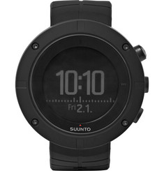 Suunto - Kailash Carbon-Tone Titanium GPS Watch