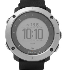 Suunto - Traverse GPS Outdoor Exploration Stainless Steel Watch