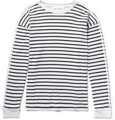 Our Legacy Striped Washed-Cotton Jersey T-Shirt
