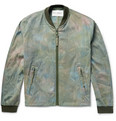 Our Legacy - Tie-Dyed Stretch-Cotton Bomber Jacket