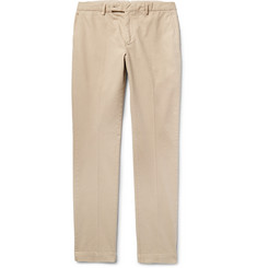 Hackett London Slim-Fit Garment-Dyed Stretch-Cotton Chinos