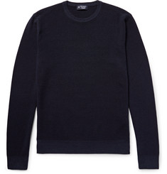 Hackett London Textured-Wool Sweater