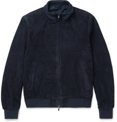 Hackett - Mayfair Suede Bomber Jacket