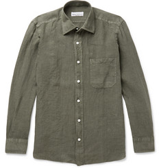 Rubinacci - Slim-Fit Linen Shirt