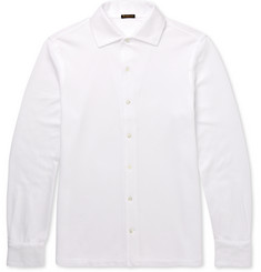 Rubinacci Slim-Fit Cotton-Piqué Shirt