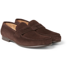 Harrys of London - James R Suede Penny Loafers
