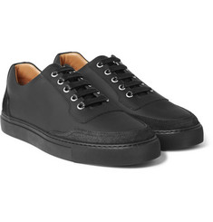 Harrys of London - Mr. Jones 2 Suede-Panelled Matte-Leather Sneakers